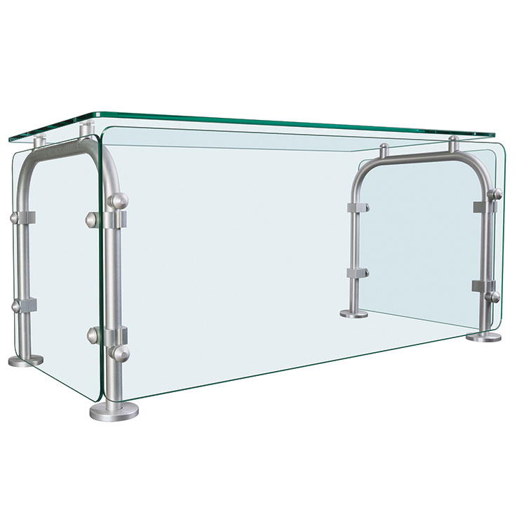 Hatco SGEN Enclosed Glass Sneeze Guard For Foodservice