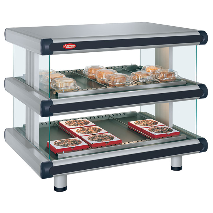 GR2SDH-xxD Glo-Ray Designer Merchandising Dual Shelf Warmer