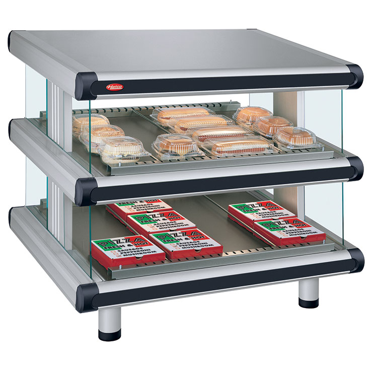 GR2SDS-xxD Glo-Ray Designer Merchandising Dual Shelf Warmer