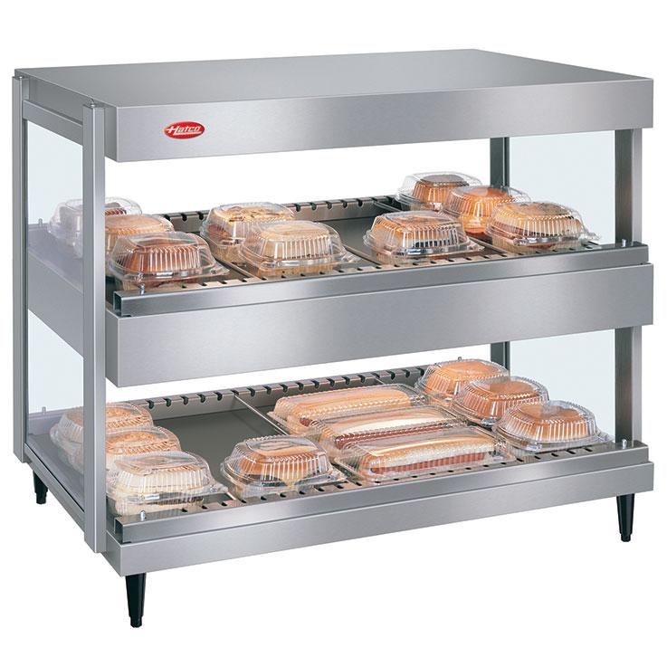 GRSDH-xxD Glo-Ray Merchandising Dual Shelf Warmer