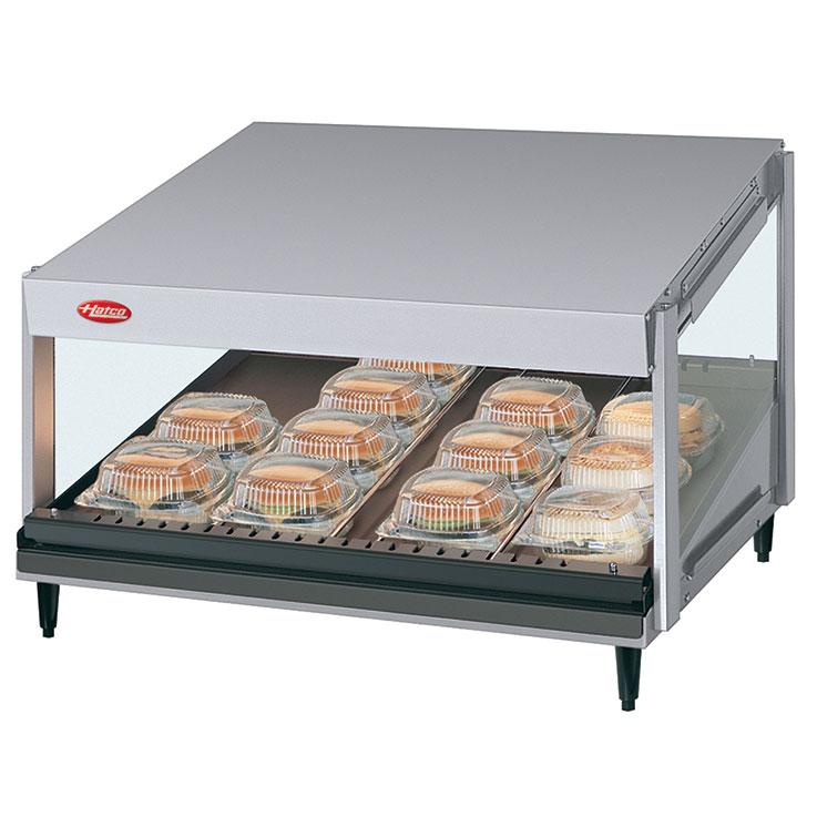 GRSDS Glo-Ray Merchandising Warmer | Slant Shelf Foodwarmer