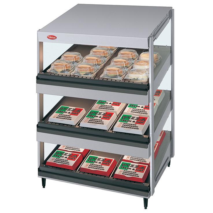 GR3SDS-xxT Glo-Ray Merchandising Triple Shelf Warmer