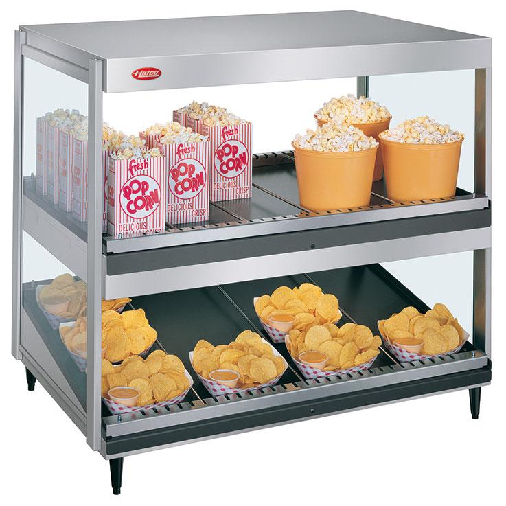 GRSDS/H-xxD Glo-Ray Merchandising Dual Shelf Warmer