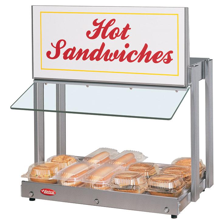 GRHW-xSG Glo-Ray Mini-Merchandiser Hot Food Server Display