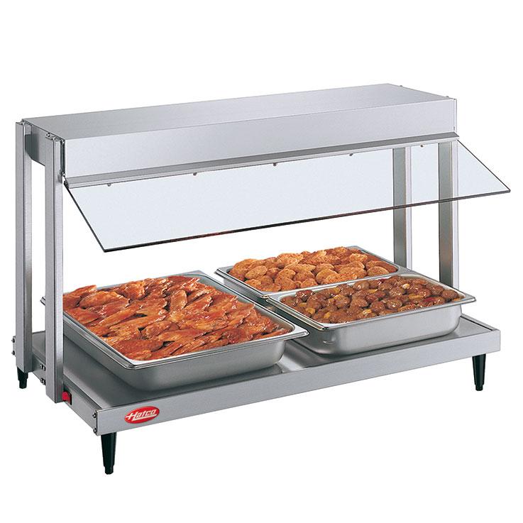 GRHW Glo-Ray Mini-Merchandiser Hot Food Server Display