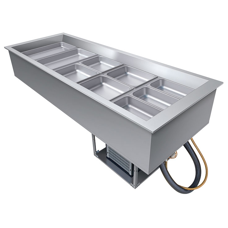 Hatco Refrigerated Salad Bar Drop In Cold Wells
