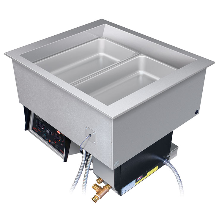 Cold and Hot Wells | Drop-In Well Foodwarmers | Divided Temp