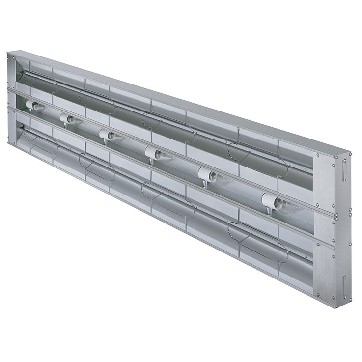 GRAL-D/GRAHL-D Glo-Ray Dual Aluminum Infrared Strip Heater ... on