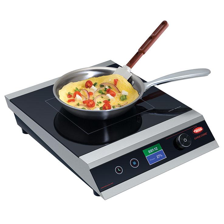 irngpc1 rapide cuisine countertop induction range from hatco