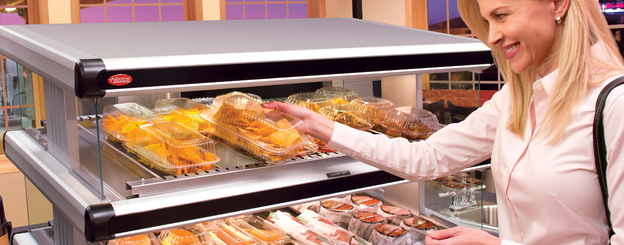 Hot Food Warmers | Food Display Merchandisers | Proper Temperature