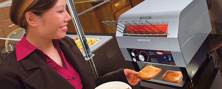 Conveyor Toaster Ovens | Hatco Constant Flow Industrial
