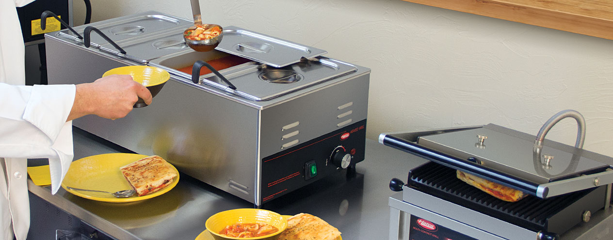 Countertop Heated Foodwarming Well | Wet Or Dry Options