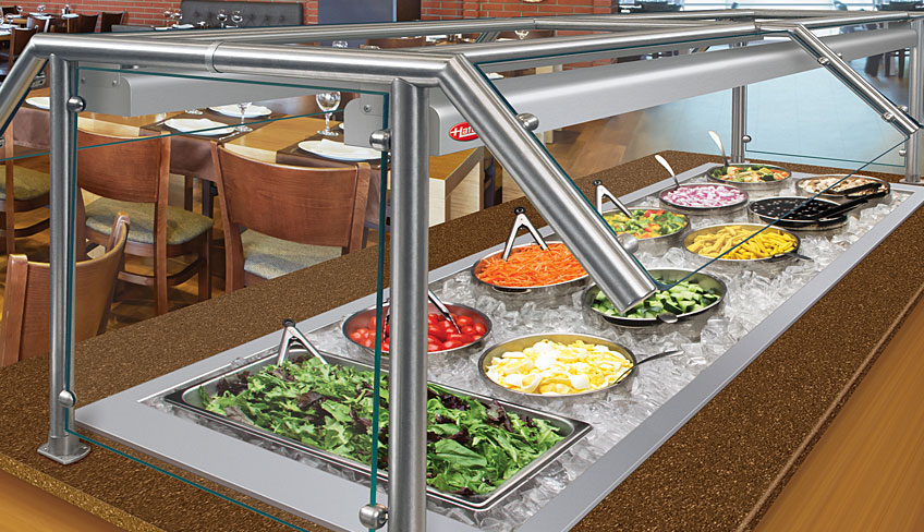 Drop-In Ice Wells | Cooled Food Wells For Bars or Restaurant