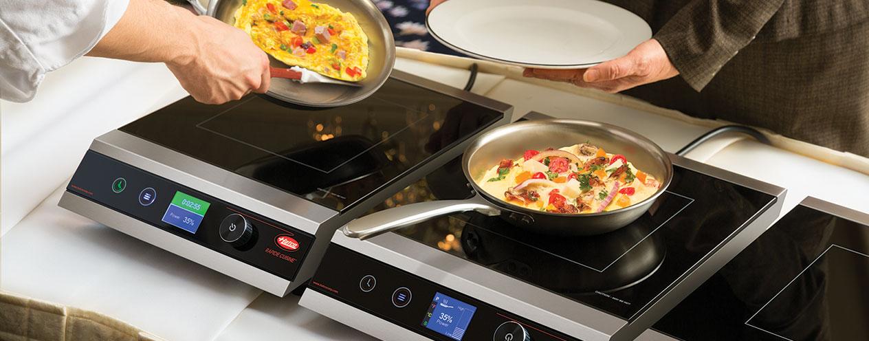 Rapide Cuisine Countertop Induction Range from Hatco