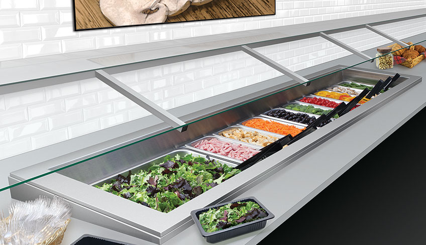 Refrigerated Drop-In Well | Foodservice Equipment