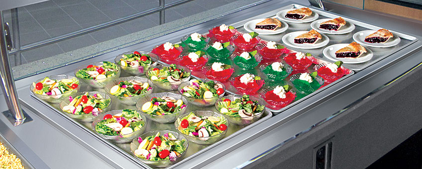 Frost Tops Cold Food Display Shelves Hatco