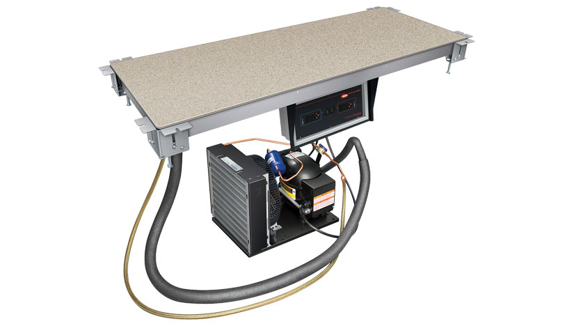 Hcssb 4818 Hot Cold Simulated Stone Shelf Built In